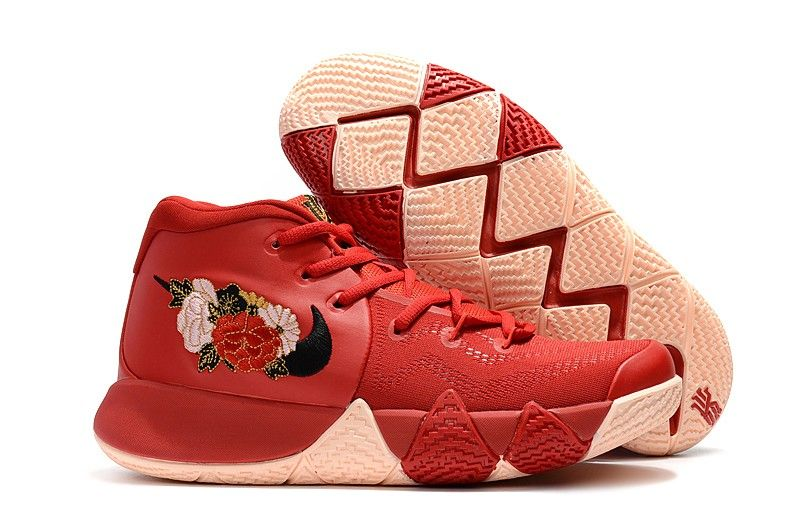 size 40 22409 626ec 2018 Fireworks Nike Kyrie 4 CNY Chinese New Year Basketball Shoes