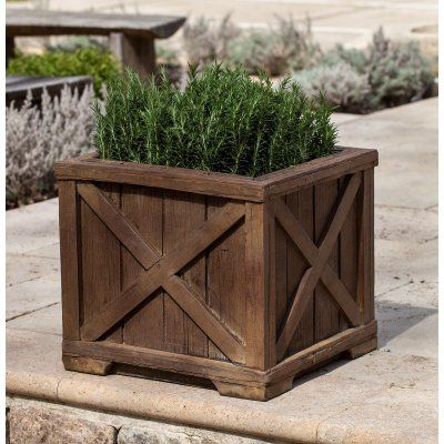 Campania International Rustic Versaille Planter Products