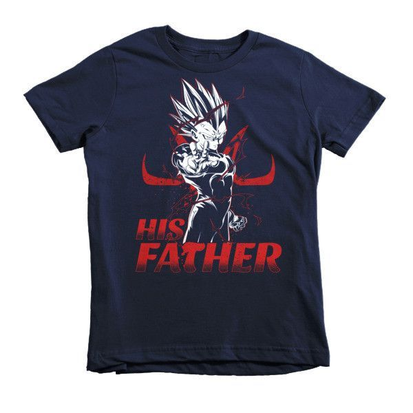 Super Saiyan Majin Vegeta Dad Kid Shirt - PF00489KS