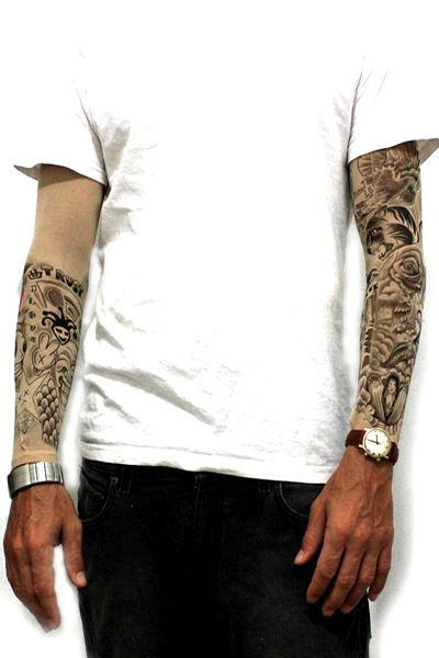 Celebrity Inspired Temporary Tattoos Tattoo Sleeves And Apparel