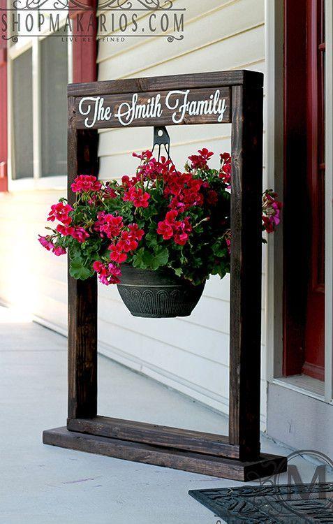 Custom Plant Stand  Hanging Planter, Plant Hanger Decor: