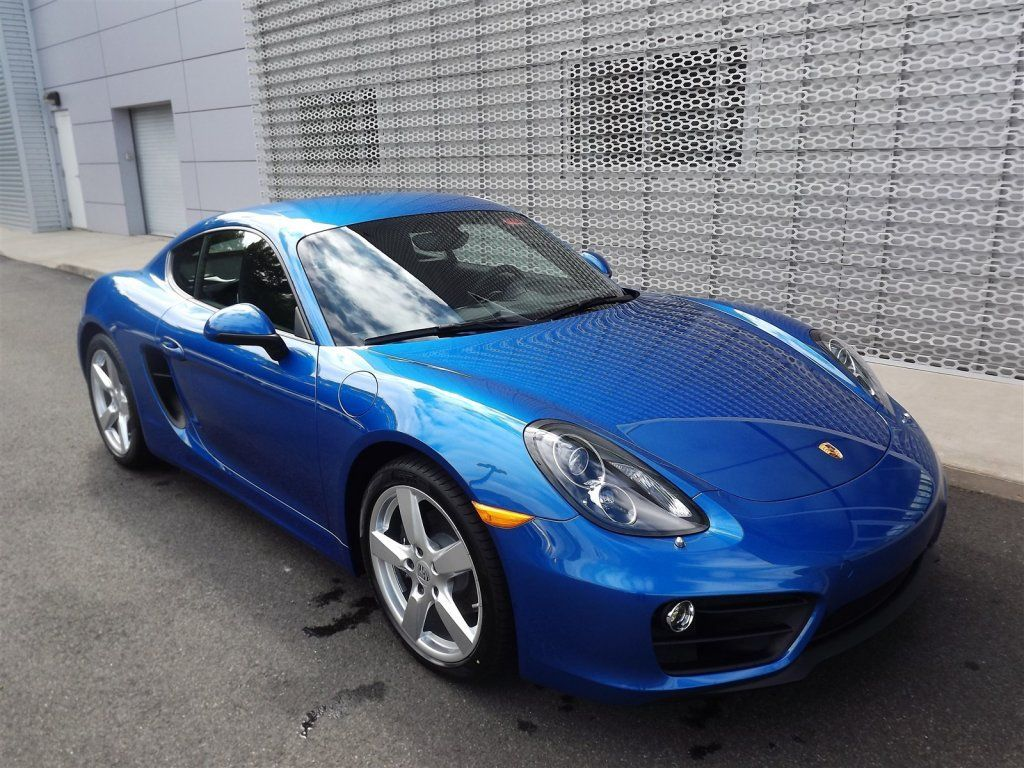 Porsche Of Wallingford >> 2015 Porsche Cayman Sapphire Blue Metallic Wallingford