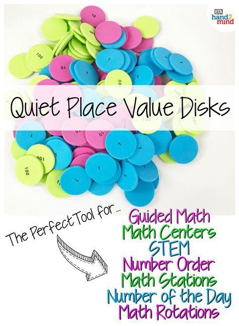 Place Value Disks 4 Values Set Of 200 Expanded Form Standard
