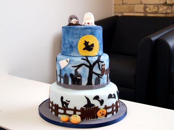Torten dekorieren halloween