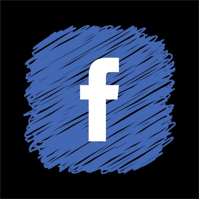 Facebook Scribble Square Icon Fb Logo Logo Facebook Facebook Icons Facebook Logo Transparent