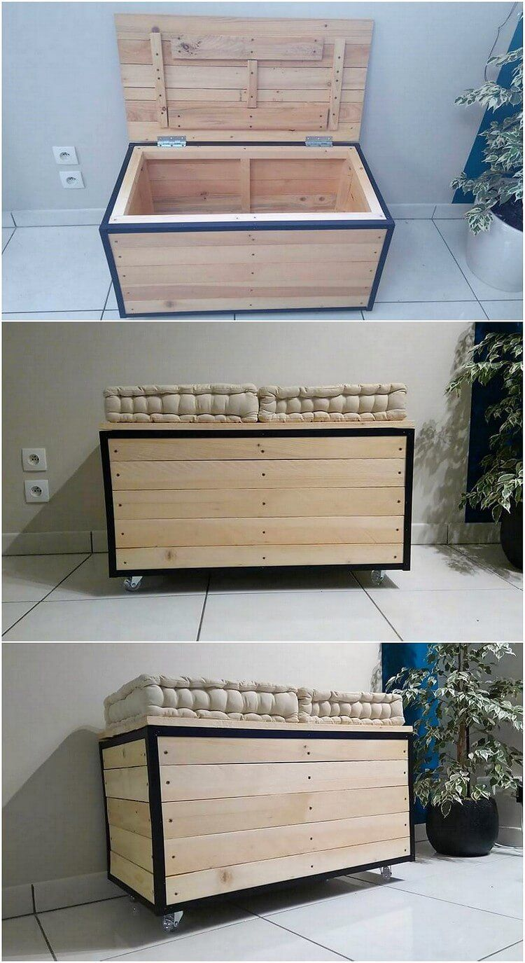 Simple and creative ideas for reusing or recycling old pallets