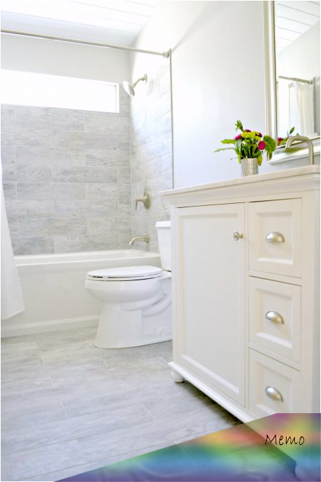 Jun 6 2019 Want To Know How To Renovate A Small Bathroom On A Budget I Got A Clean Designer In 2020 Budget Bathroom Budget Bathroom Remodel Bathroom Renovation Diy