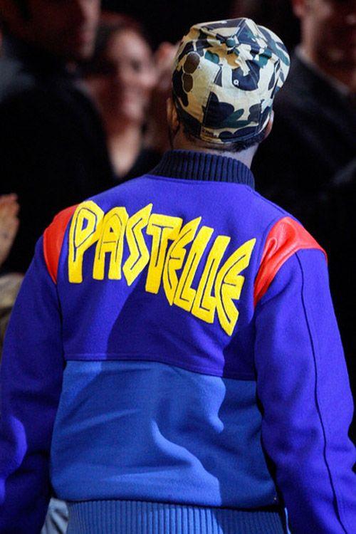 Kanye West Pastelle Varsity Jacket Kanye West Kanye West