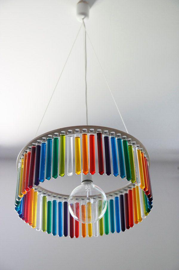 Maria sc single test tubes chandelier 17500 via etsy things ceilings aloadofball Images