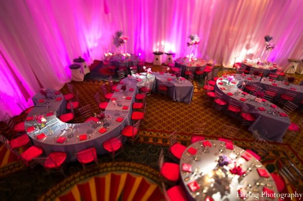 The reception venue for the indian wedding reception hot for Venue decoration