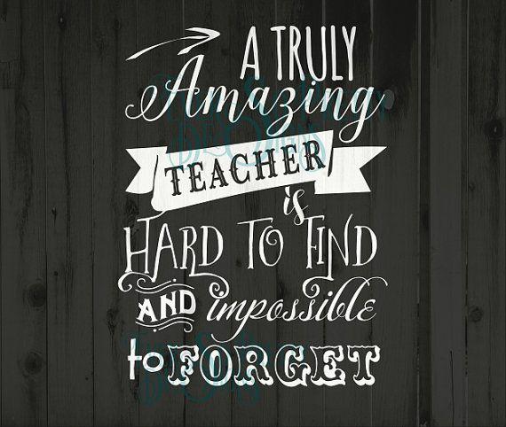Teacher svg amazing teacher svg A truly by EverSoPrettyDesigns