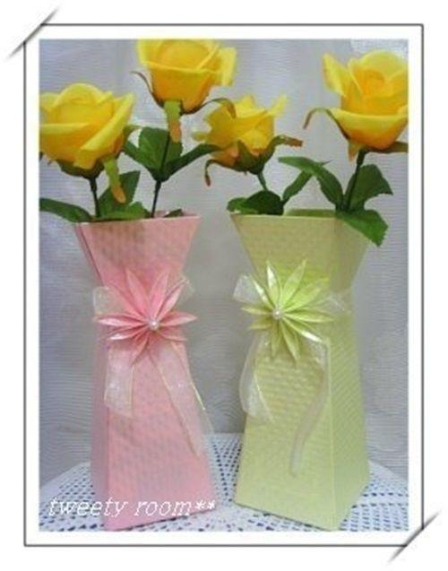 Diy beautiful paper flower vase 01 drawings to do and other diy beautiful paper flower vase 01 mightylinksfo
