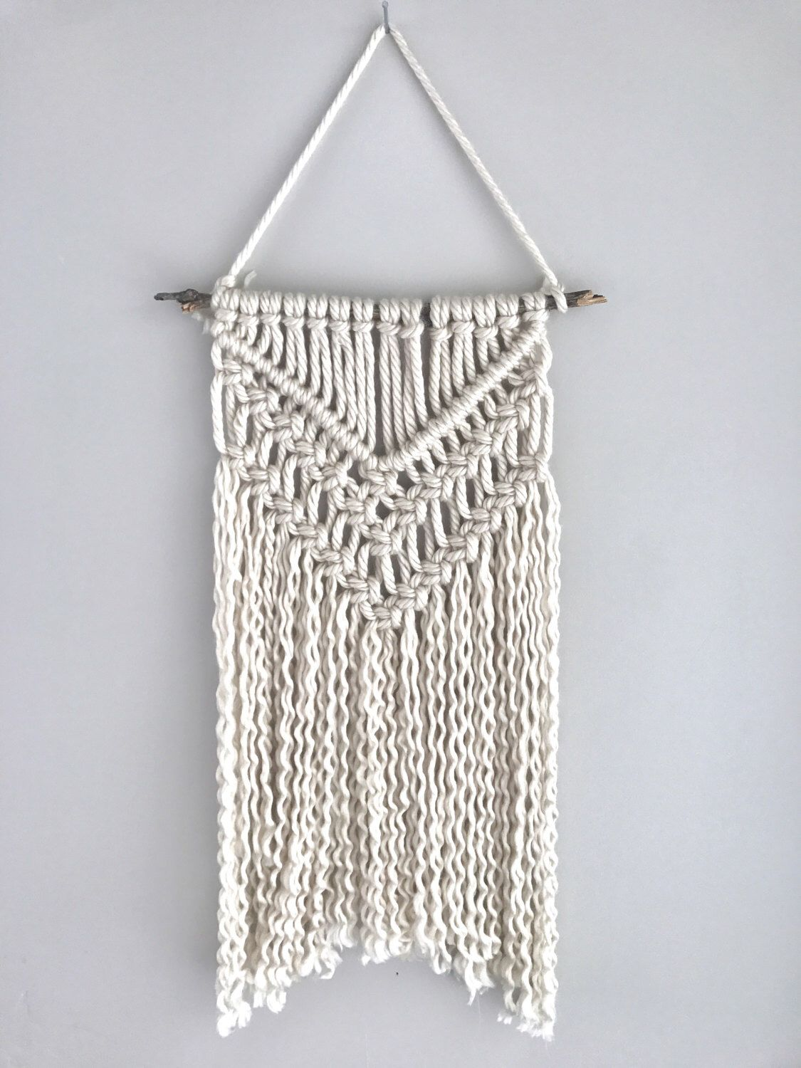 Boho Wall Hanging macrame wall hanging | yarn macrame | tapestry | nursery decor