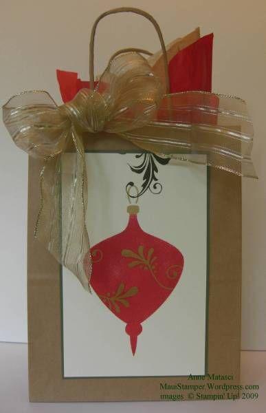 Elegant Ornament Gift Bag