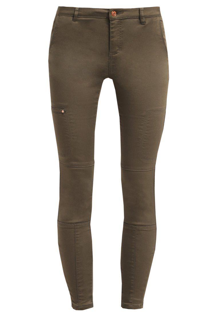 Vero Moda VMWISH - Pantalon - ivy green - Zalando.nl