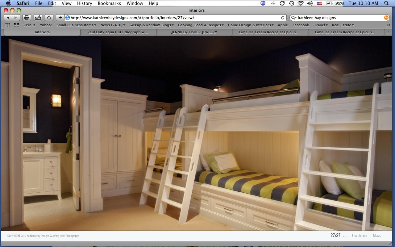 more boys bunks Hay design, House design, Home