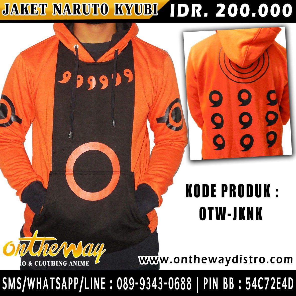 Jaket Naruto Kyubi Terbaru INFORMASI & PEMESANAN