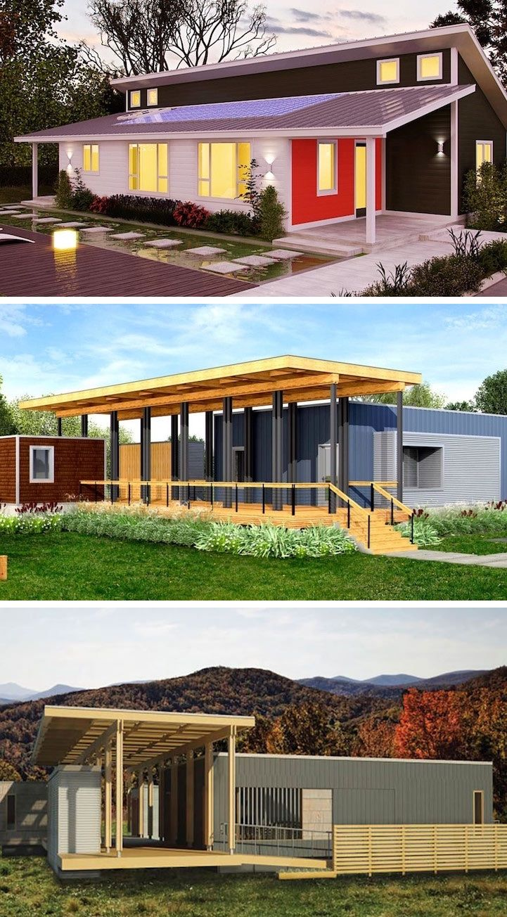 Company Creates Line of Eco-Friendly Prefab Homes That Start at ...