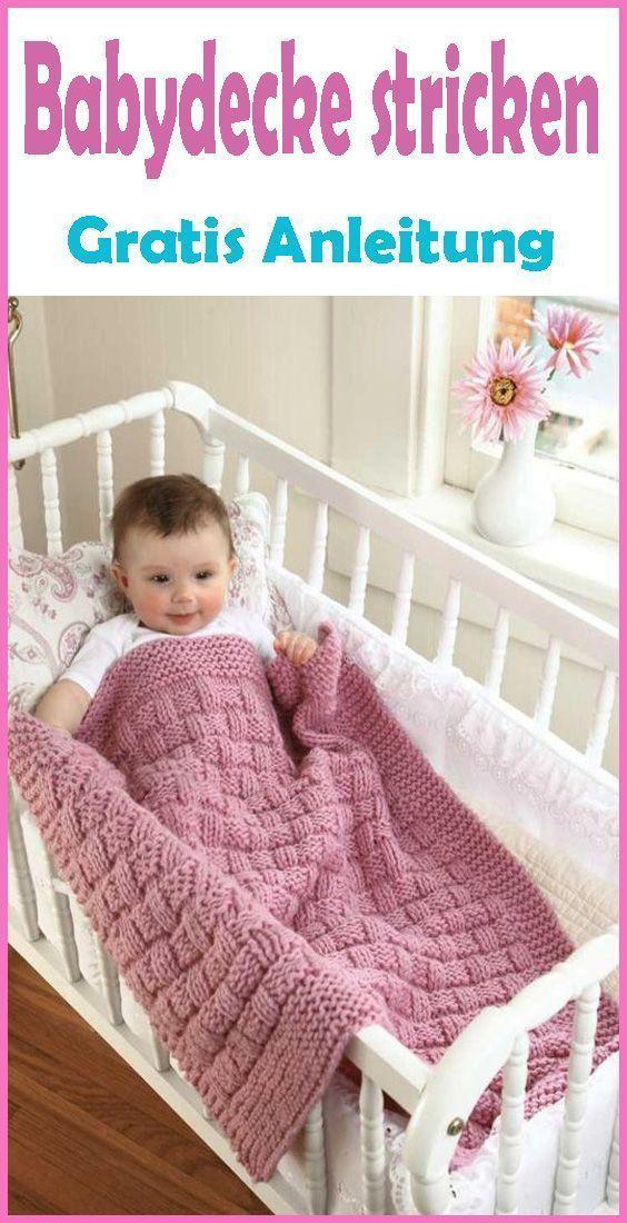Photo of Häkeln Sie Babydecke selbst – kostenlose und einfache Anleitung – Stricken Baby – # …
