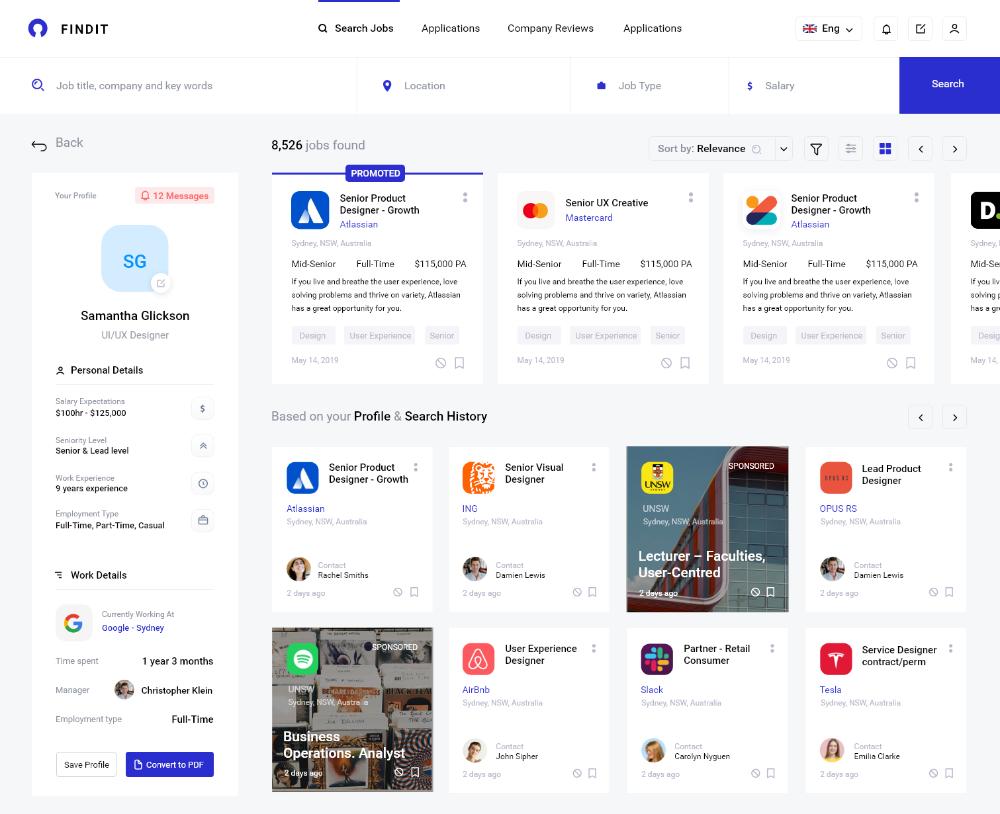 Job Application Process Dashboard Pt4 By Monty Hayton In 2020 Web Design Web Design Quotes Job Application