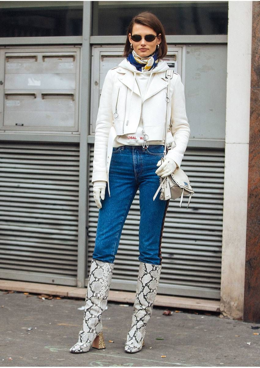 91fd748989b These Fashion-Girl Boots Are Still a Thing  Here Are 7 Outfits to ...