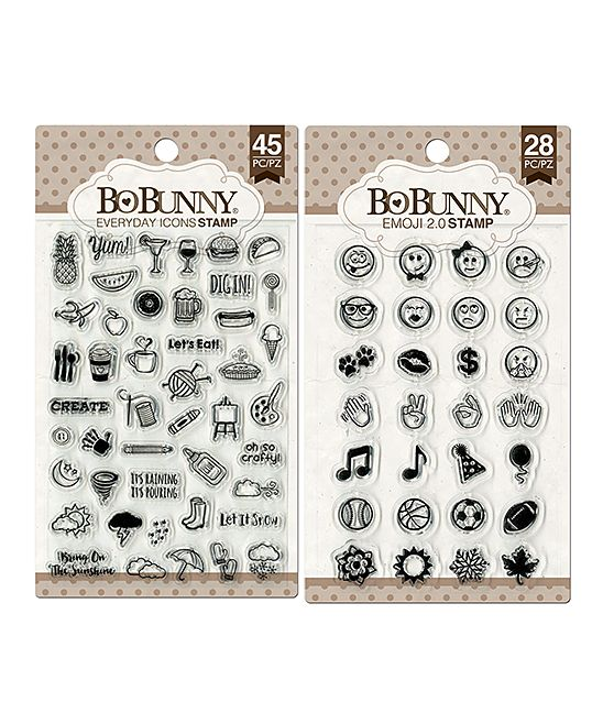Emoji 2 0 Everyday Icons Stamp Set Scrapbook Items Planner Scrapbook Paper Craft Tools