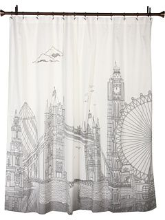 London Shower Curtain By Blissliving Home Shower Curtain
