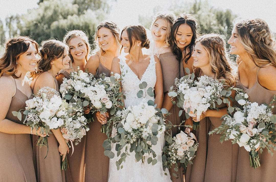 Top 8 Bridesmaid Dresses Color Trends for