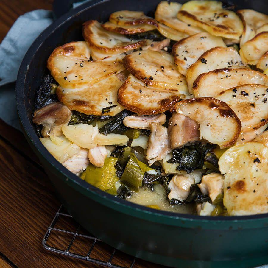 Chicken recipes leeks chicken