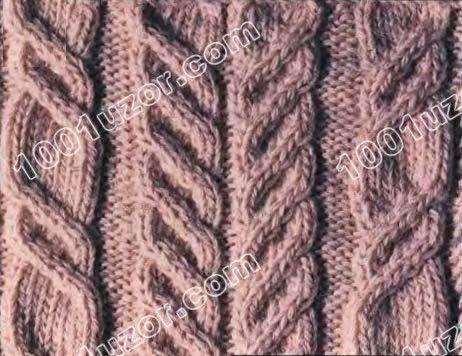 1001 узор. Узоры спицами. Ирландские узоры (аранское вязание)