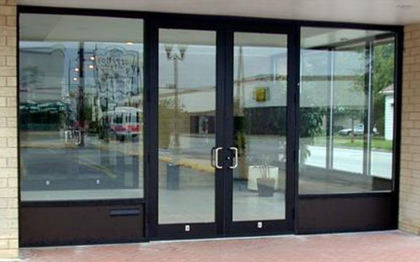 Commercial Aluminum Glass Doors Are Great For Buildings Where