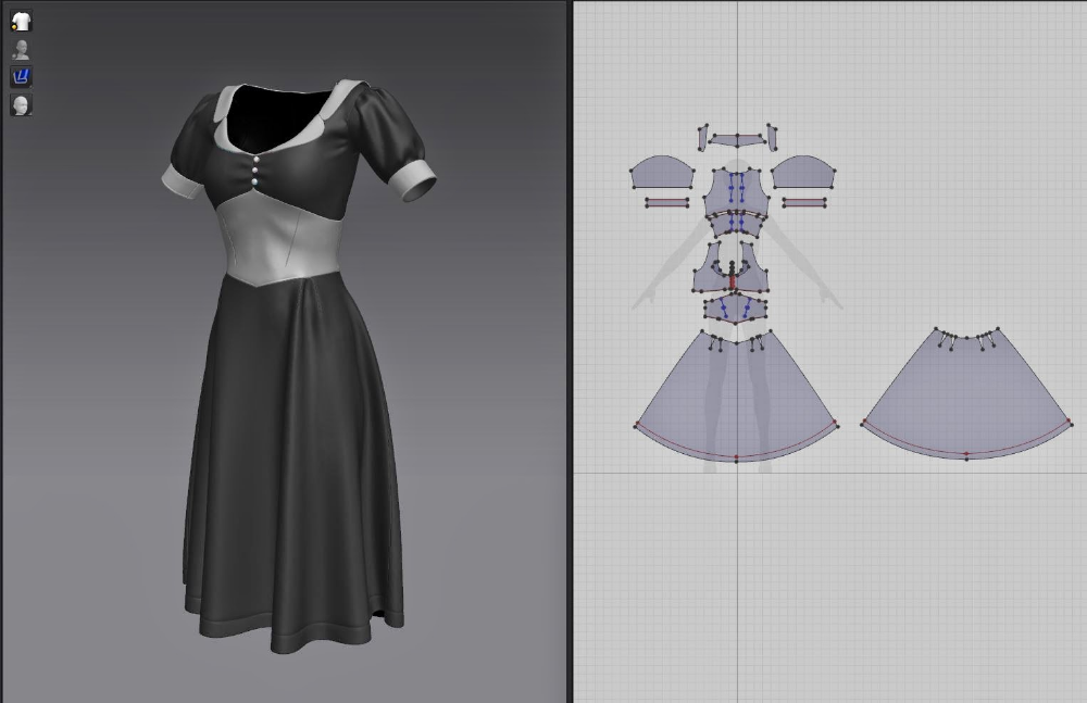 Pin by Steven Sun on 服装打版图 in 2020 Virtual fashion