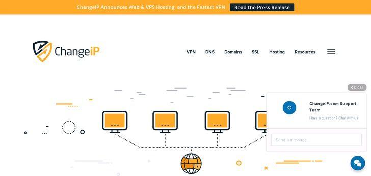 Webdesign: ChangeIP
