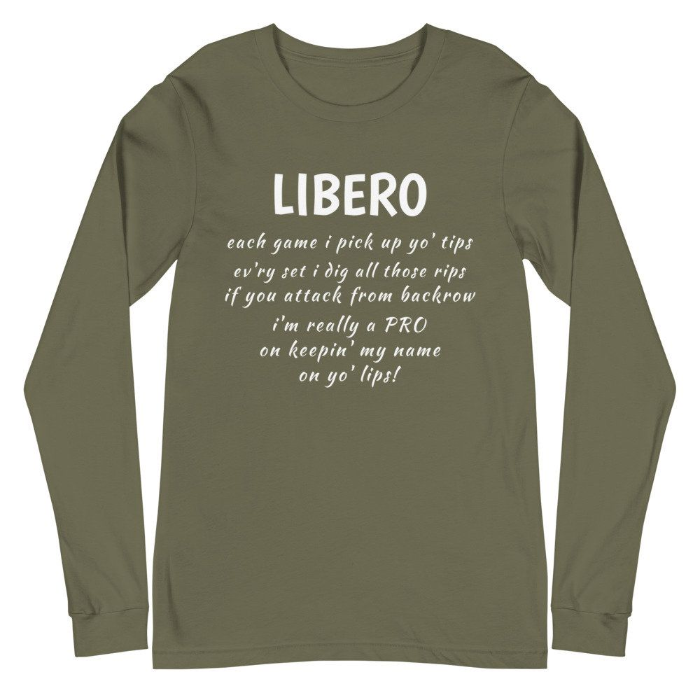 Libero Each Volleyball Game I Pick Up Yo Tips Shirt Funny Sayings T Shirts Shirts With Sayings Volleyball Shirt Volleyball Players In 2020 Shirts With Sayings Long Sleeve Tshirt Men Volleyball Sweatshirts