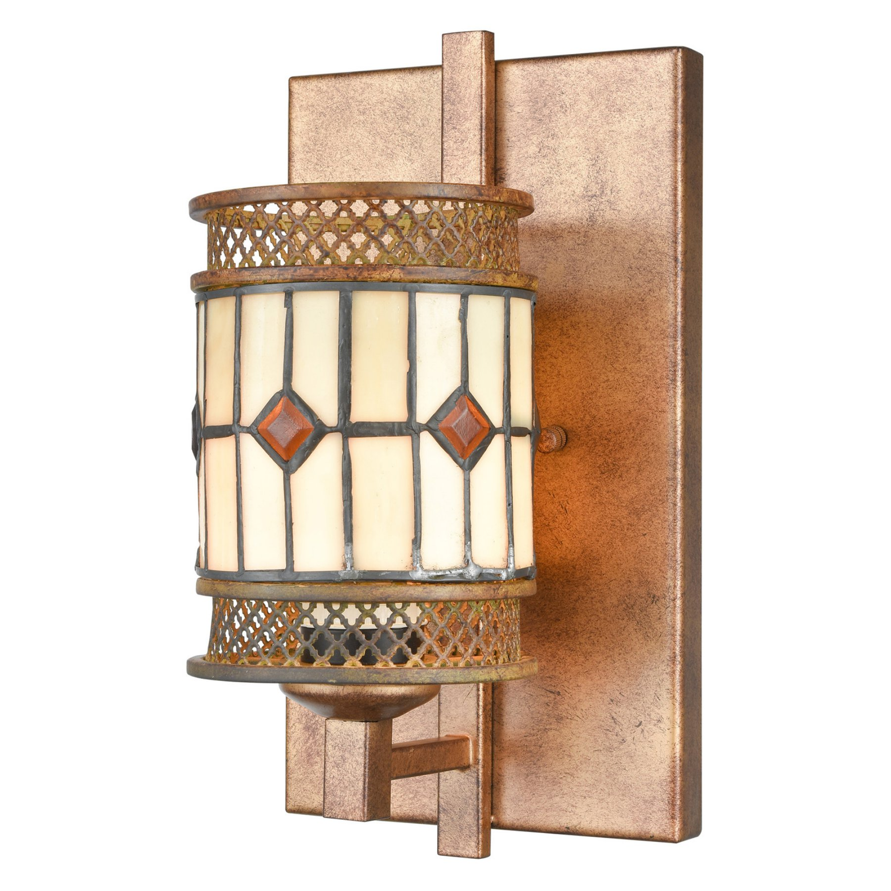 Dale Tiffany Minerals Tiffany Wall Sconce  Tw17021