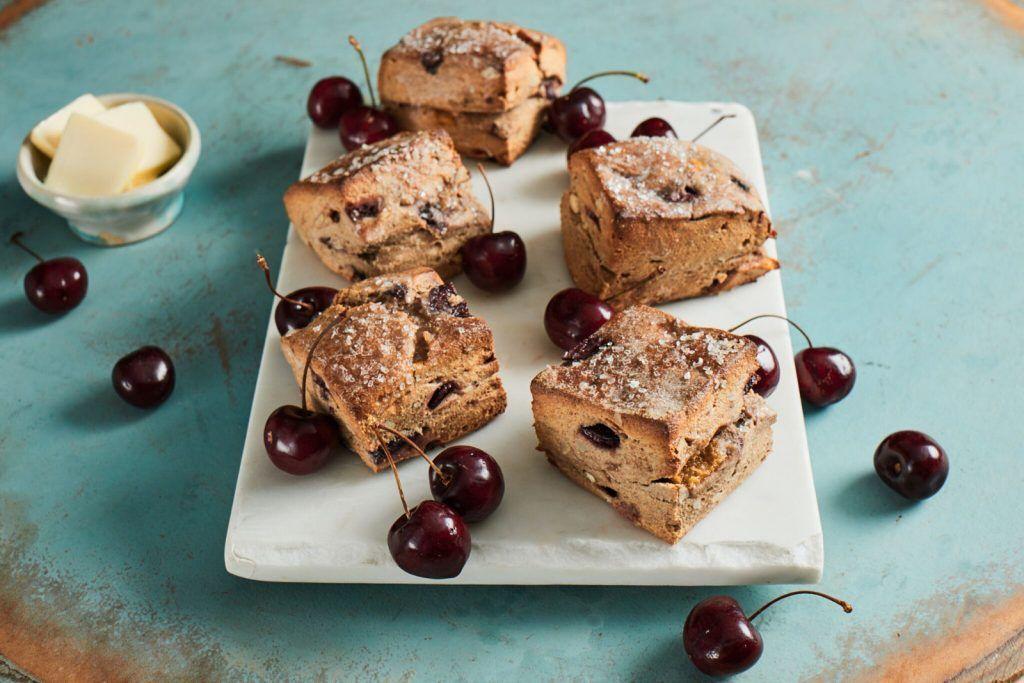 Cherry Oat Scones Recipe from Bob's Red Mill! Oat scones