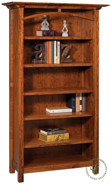 Tahoe American Made Amish Bookcase In 2020 Amish Furniture