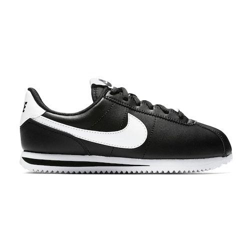 quality design 4a569 e28d3 Nike Cortez Basic SL Grade School Kids Sneakers