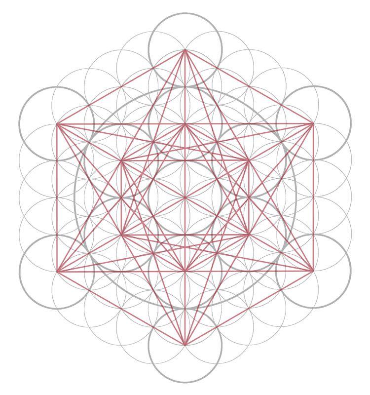 CG Sacred Geometry Metatrons Cube Free Mandala Templates