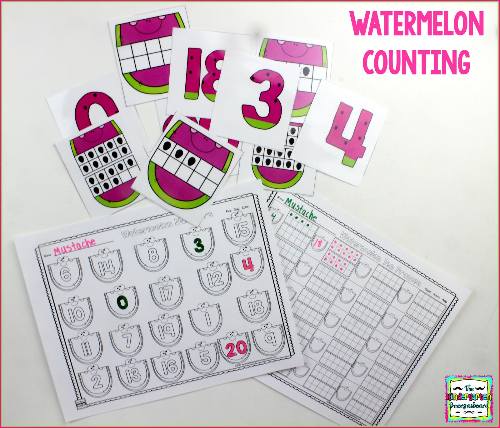 Watermelon Kindergarten Activities Ten Frames Freebie Math Centers Kindergarten Kindergarten Math Kindergarten Smorgasboard [ 1370 x 1600 Pixel ]