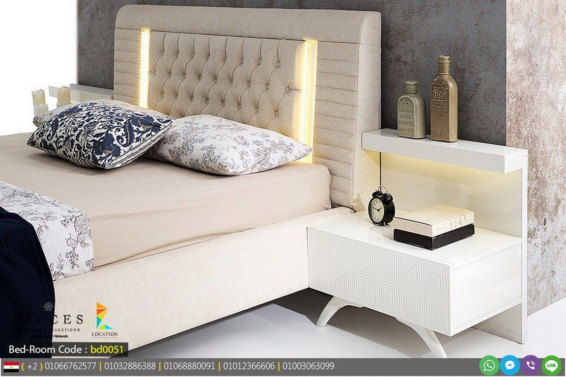 نصائح و افكار ديكورات غرف نوم 2017 2018 بلمسة غاية في الفخامة والجمال لوكشين ديزين نت In 2020 Bedroom Bed Design Furniture Design Bed Design
