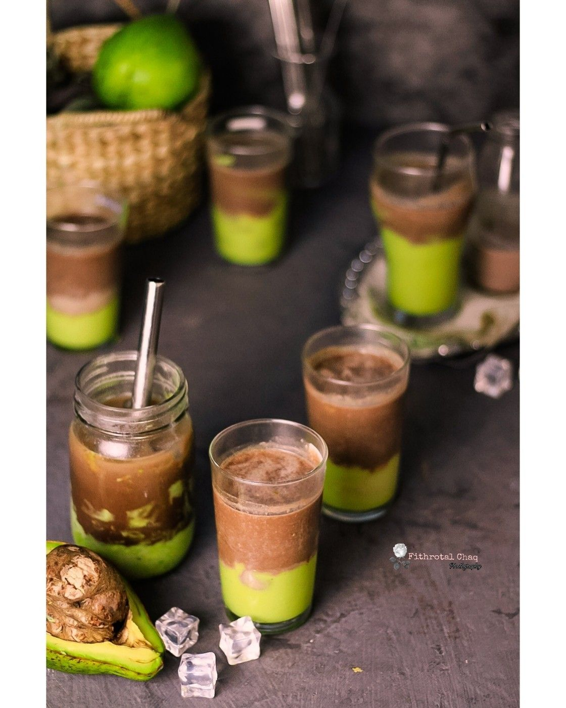 Avocado Milo Ice Foodphotography Ice Alpukat Kopi Instan Kopi