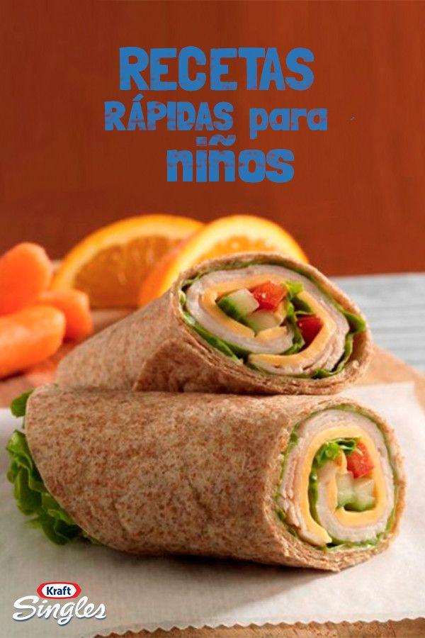 cenas sencillas y saludables para niños