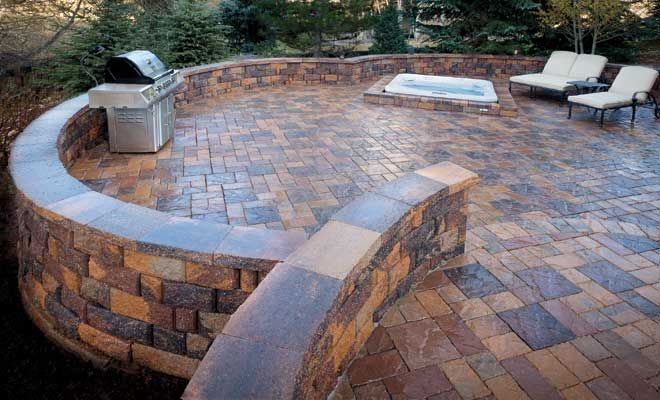 pavers for patio venetian stone combo 60mm pavestone patio