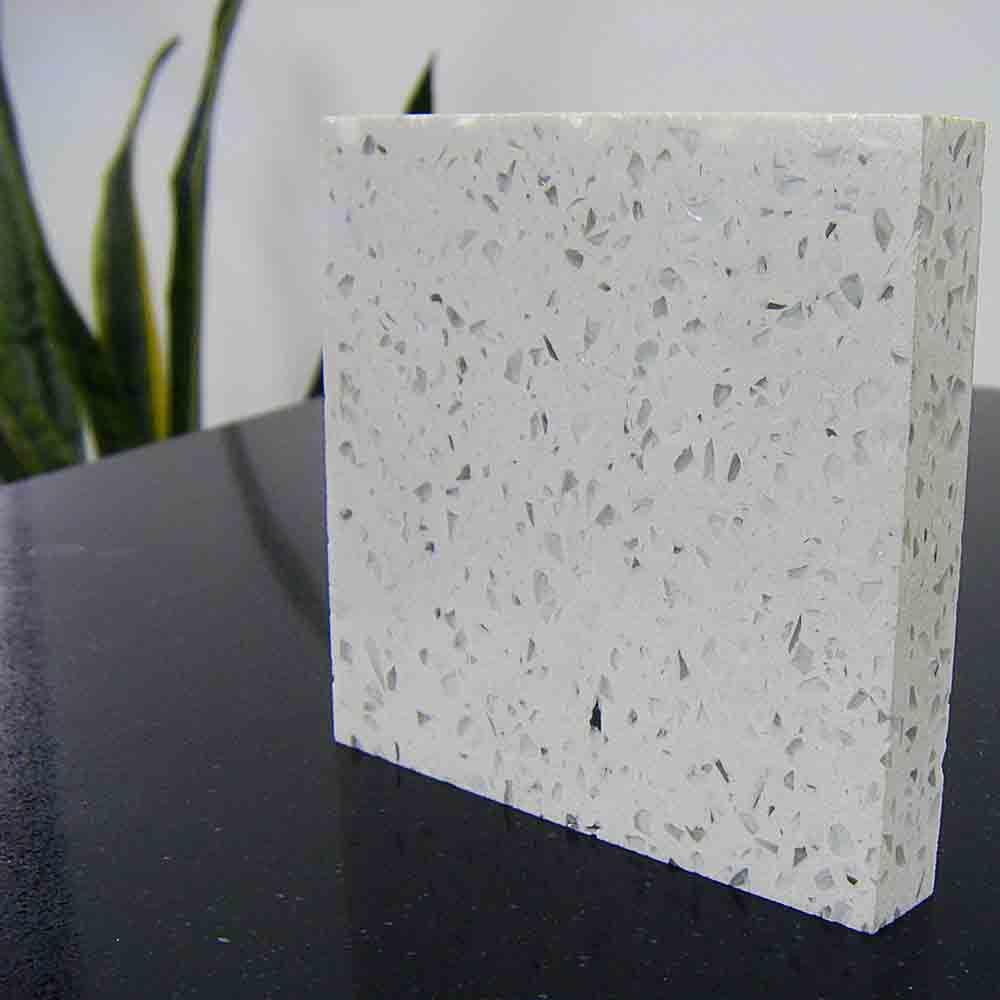 Best Sparkling Quartz Countertops Colors White 2121 400 x 300