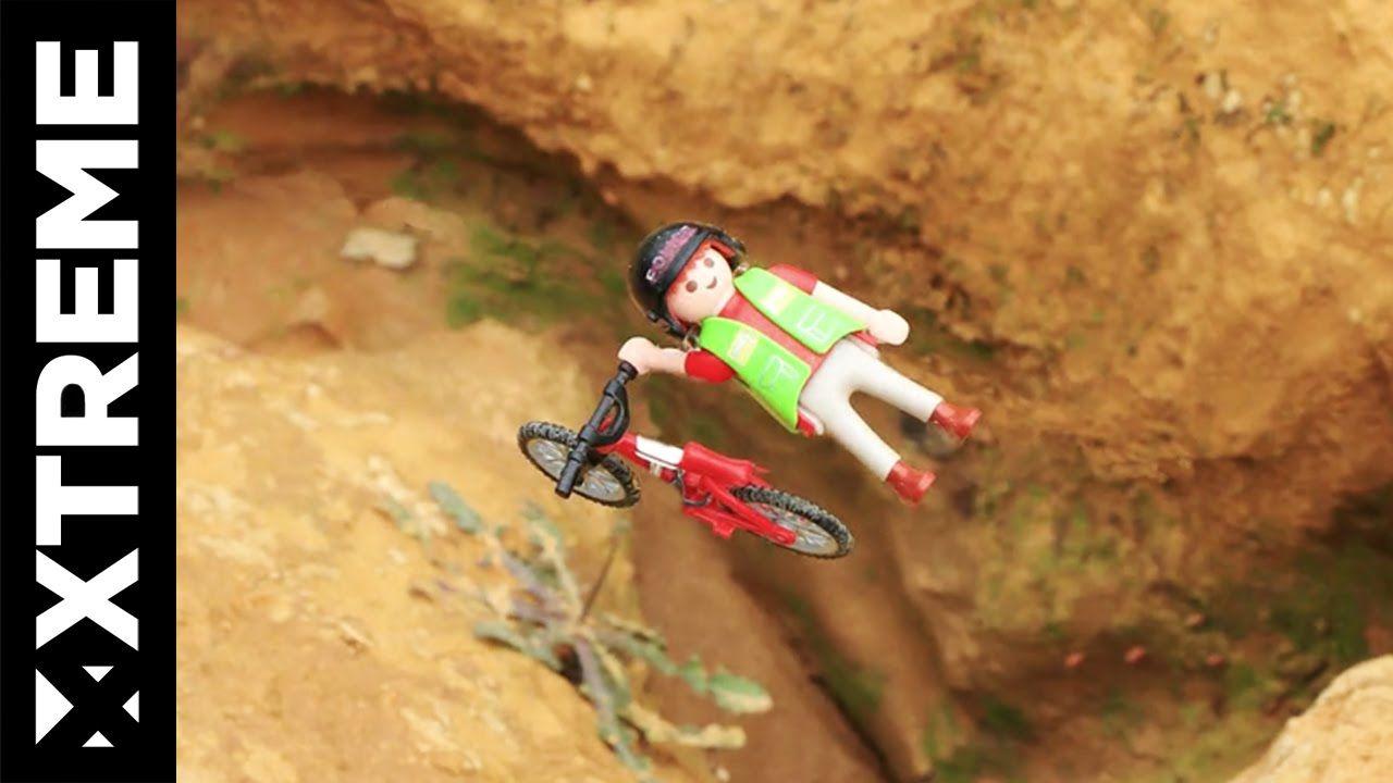 Extreme Toys Mtb Bmx Playmobil Stopmotion Extreme Mountain