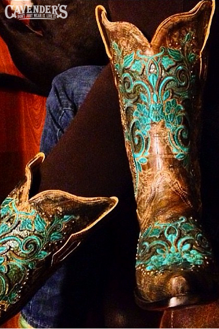These gorgeous embroidered Corral cowboy boots were Instagrammed by ...