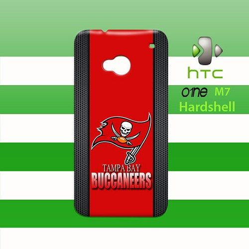 Tampa Bay Buccaneers HTC One M7 Case Cover Hardshell