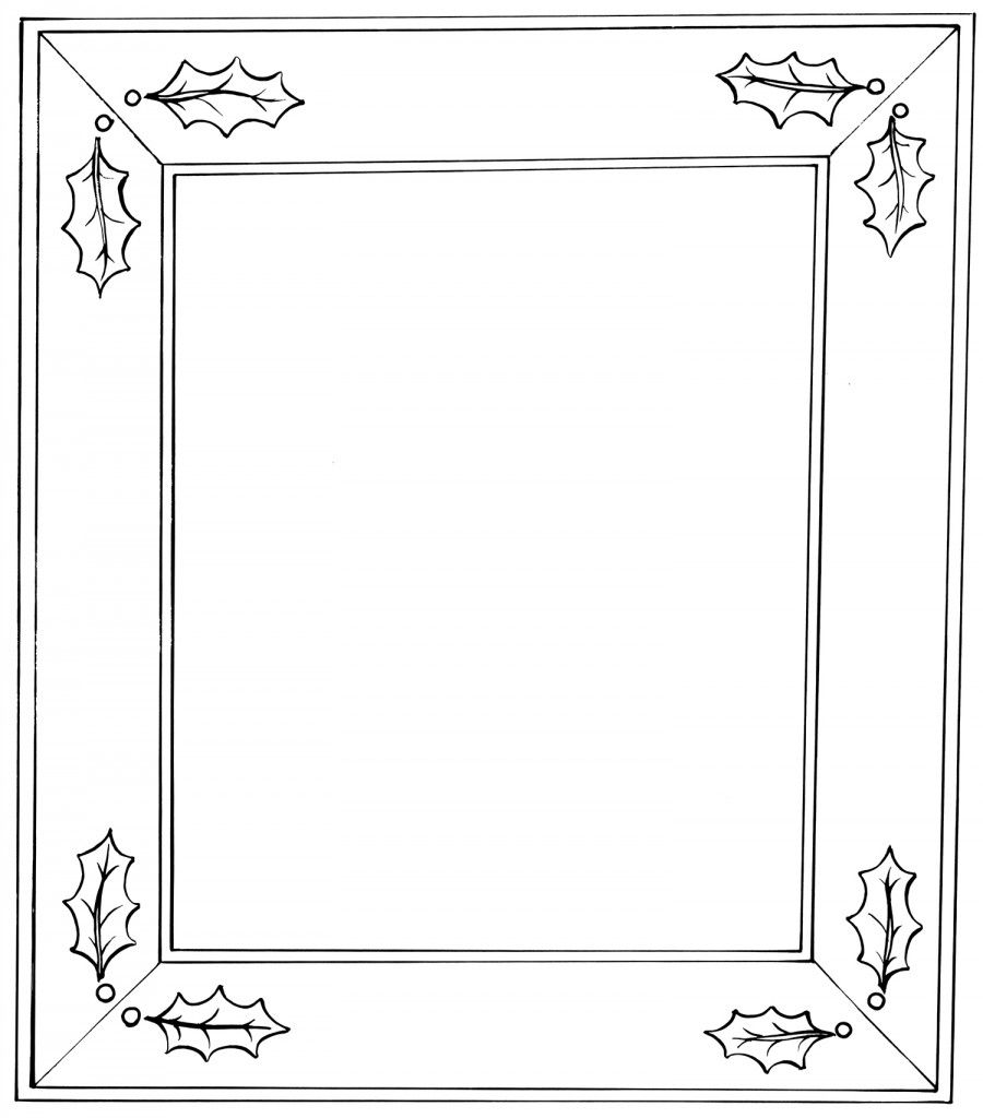 Christmas Border Christmas Border Border Design Free Christmas Coloring Pages