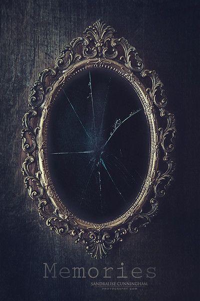 Broken Glass Shattered Memories